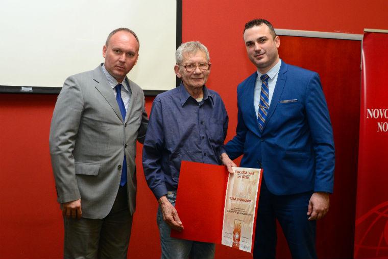 """Vajar Slavoljub Caja Radojčić dobitnik nagrade """"Sava Šumanović"""""""