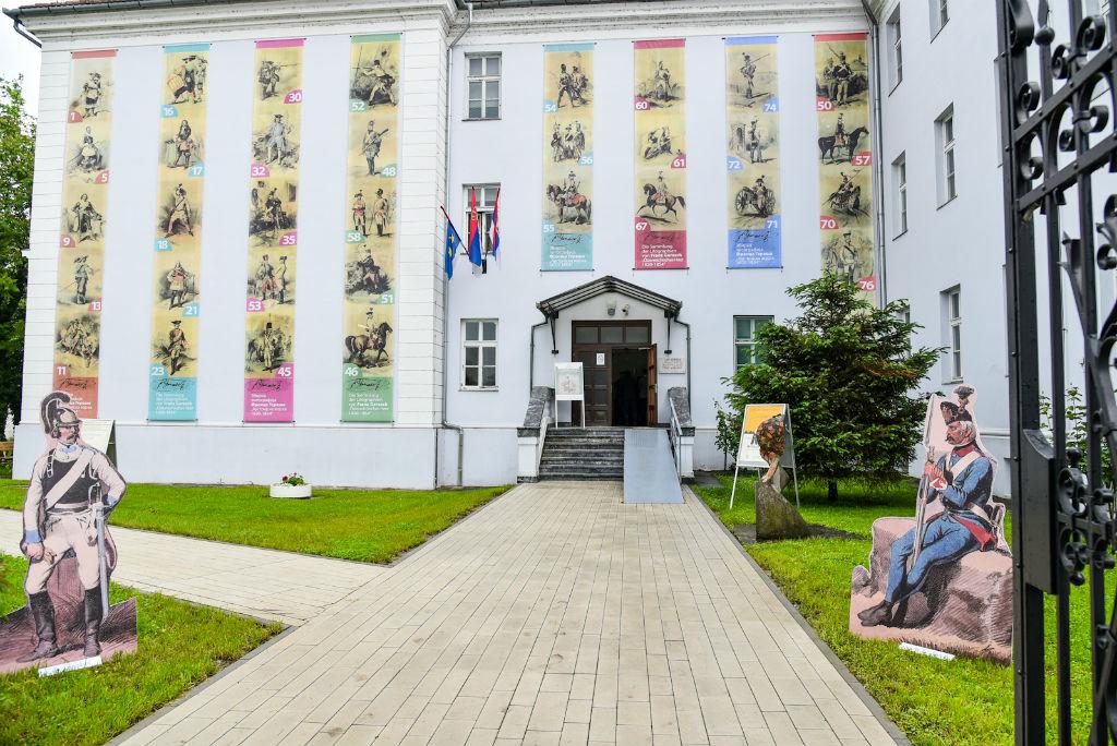 """Драгана Милошевић отворила  изложбу збирки литографија Франца Гераша """"Аустријска војска 1620 – 1854"""""""