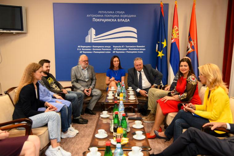 Gostovanje teatra iz Minska u Srpskom  narodnom pozorištu