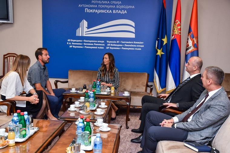 Покрајински секретари Драгана Милошевић и Ненад Иванишевић разговарали са директором Туристичке заједнице Умага