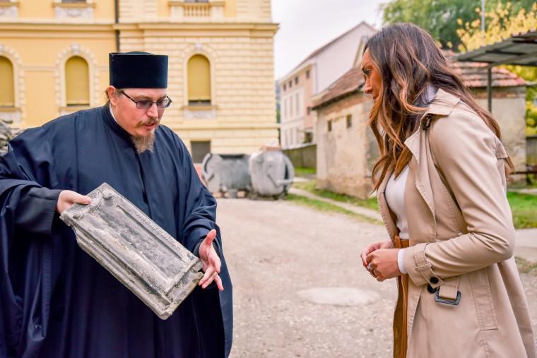 Драгана Милошевић обишла завршетак радова крова зграде Богословског интерната у Сремским Карловцима