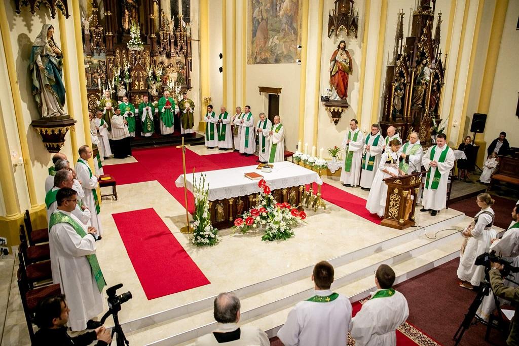 Горан Каурић на обележавању јубилеја цркве Св.Рока у Суботици